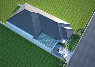 Desain Arsitek Rumah Gaya Bali - 02