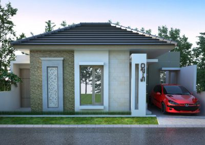 Desain Arsitek Rumah Gaya Bali - 04