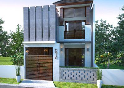 Desain Arsitek Rumah Gaya Bali - 05