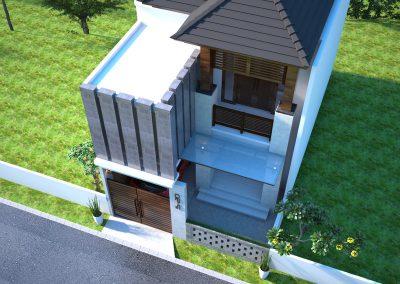 Desain Arsitek Rumah Gaya Bali - 06
