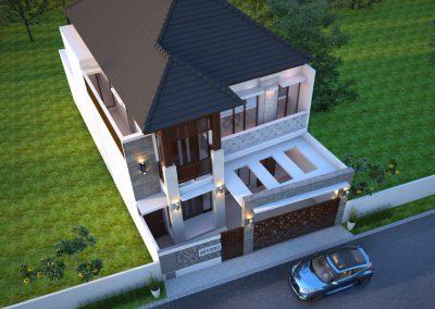 Desain Arsitek Rumah Gaya Bali - 08