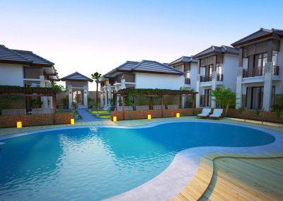 Desain Arsitek Rumah Gaya Bali - 10