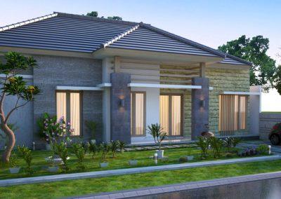 Desain Arsitek Rumah Gaya Bali - 12