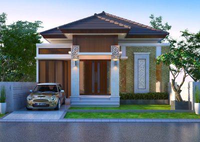 Desain Arsitek Rumah Gaya Bali - 14