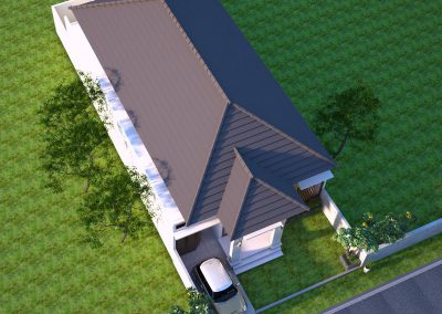 Desain Arsitek Rumah Gaya Bali - 15