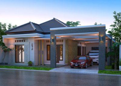 Desain Arsitek Rumah Gaya Bali - 16