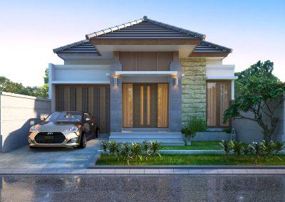 Desain Arsitek Rumah Gaya Bali - 17
