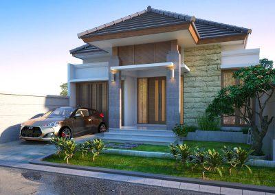 Desain Arsitek Rumah Gaya Bali - 18