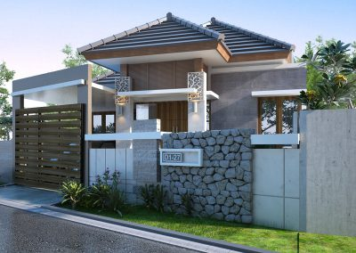 Desain Arsitek Rumah Gaya Bali - 20