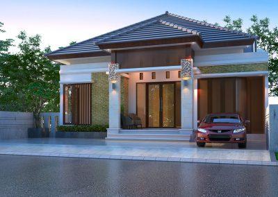 Desain Arsitek Rumah Gaya Bali - 23
