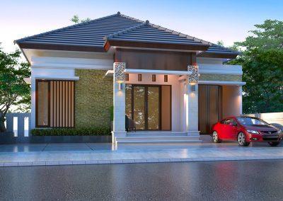 Desain Arsitek Rumah Gaya Bali - 25