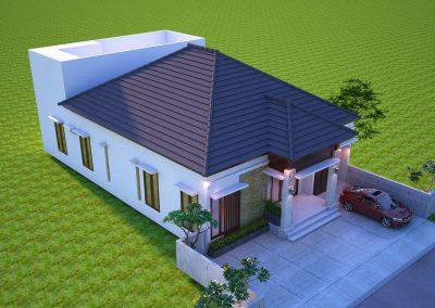 Desain Arsitek Rumah Gaya Bali - 26