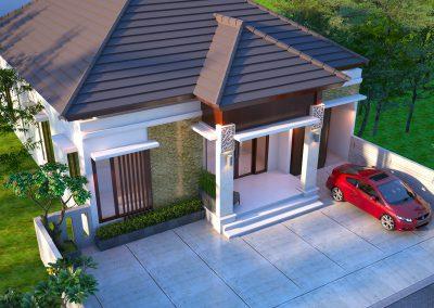 Desain Arsitek Rumah Gaya Bali - 27