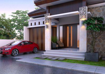 Desain Arsitek Rumah Gaya Bali - 30