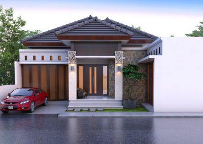 Desain Arsitek Rumah Gaya Bali - 31