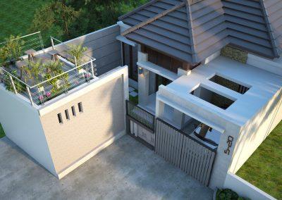 Desain Arsitek Rumah Gaya Bali - 32