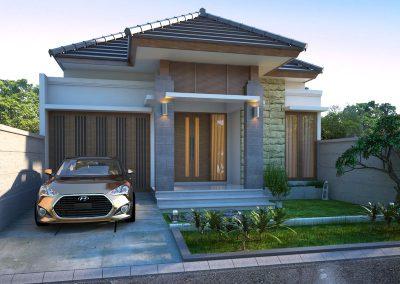Desain Arsitek Rumah Gaya Bali - 33