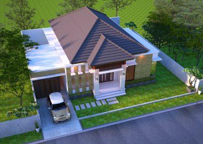 Desain Arsitek Rumah Gaya Bali - 34