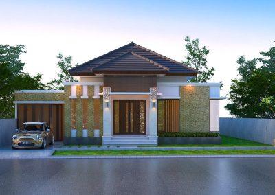 Desain Arsitek Rumah Gaya Bali - 35