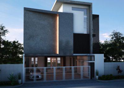 Desain Arsitek Rumah Gaya Bali - 36
